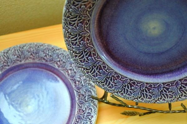 【mateus】レースと幻想的な色使い・マテュースのお皿